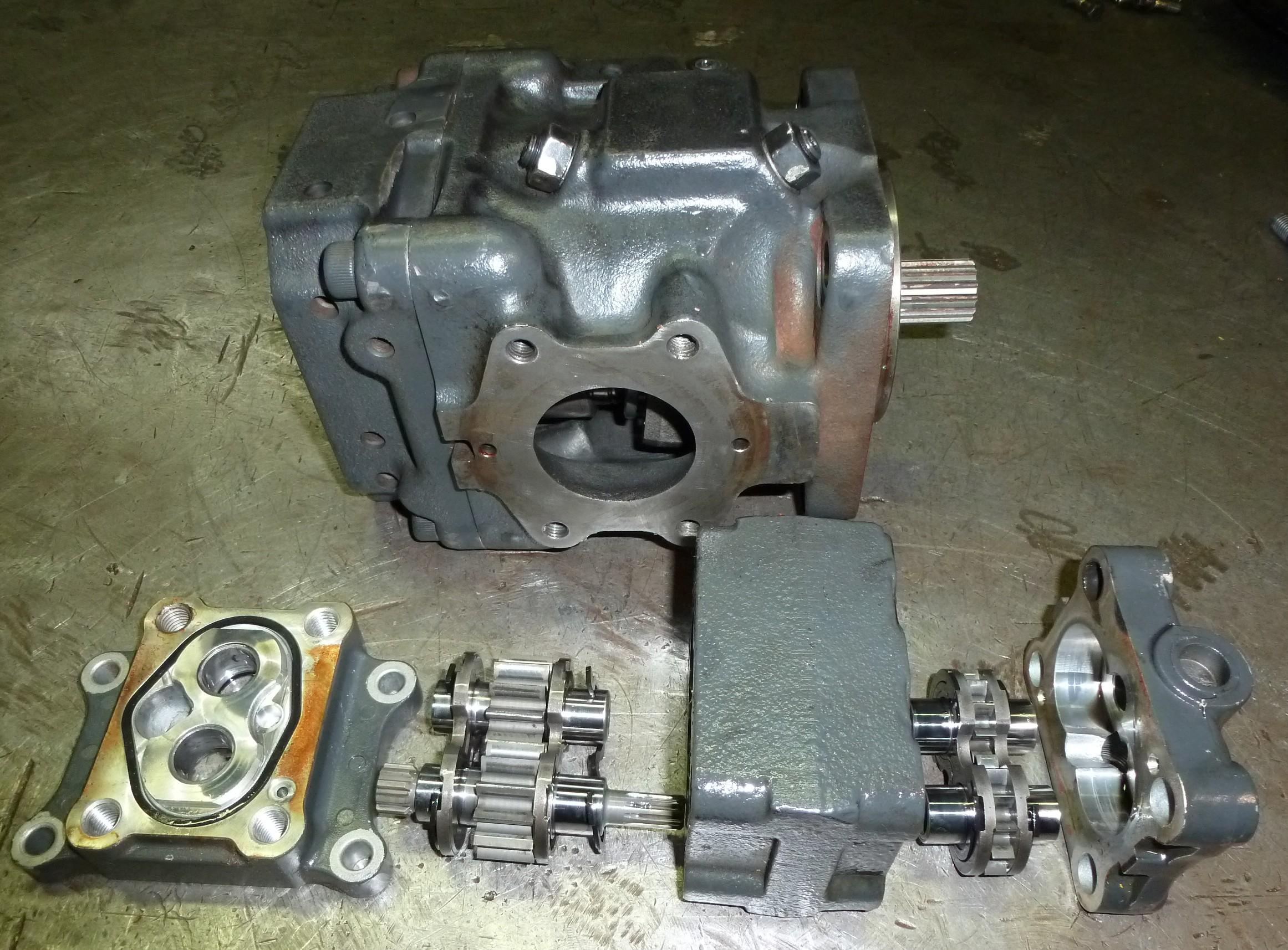 Pompe hydraulique komatsu revision